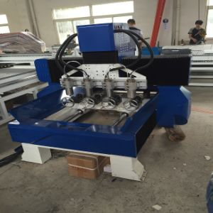 3D CNC Router Machine for Solidwood, MDF, acrylic, PVC, Plastic, Foam pictures & photos