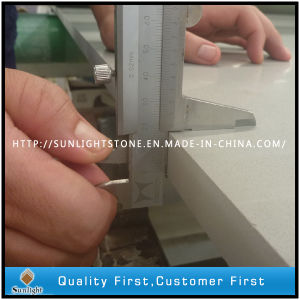 Engineered Artificial Quartz Surface Stones for Countertop Slab/Tiles pictures & photos