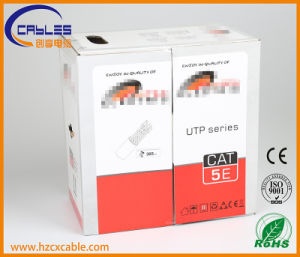 UTP Cat5e with Power Cable/Messenger Double Jacket pictures & photos