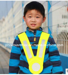 V Shape Reflective Children Vest pictures & photos