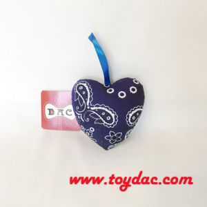Cotton Fragrance Car Heart Key Ring
