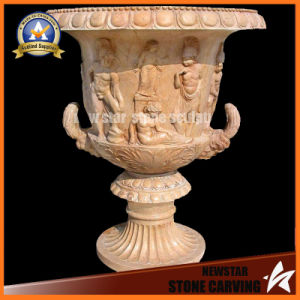 Figure and Fruit Surround Carving Flower Pot Stand (NS-11P16) pictures & photos