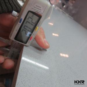 Kkr Pure White Flooring Tile Quartz Stone pictures & photos