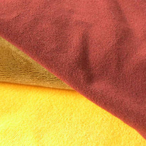 Solid Dyed Super Soft Velvet Fabric for Sofa pictures & photos