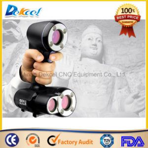 3D Handheld Laser Scanner Sculpture Body Scanning for CNC Router or 3D Printer pictures & photos