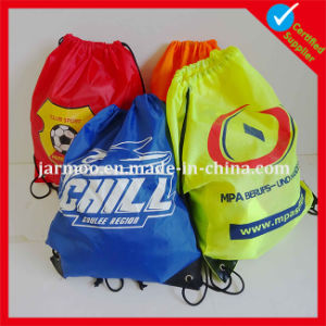 Promotional High Quality Polyester Drawstring Bag pictures & photos