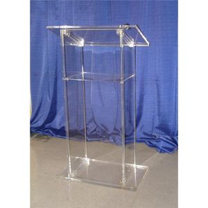 Fixture Displays Acrylic Podium Plexiglass Pulpit School Church Lectern pictures & photos