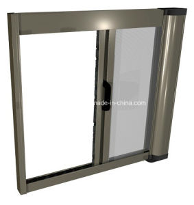 Coil Rolling up and Down Window Insect Screen pictures & photos