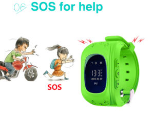 0.66 Inch Kids GPS Location with OLED Screen pictures & photos