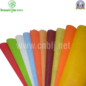 70g Colorful PP Nonwoven Fabric pictures & photos
