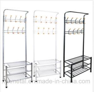 Metal Shoe Rack Bag Clothes Garment Hanger Coat Rack pictures & photos