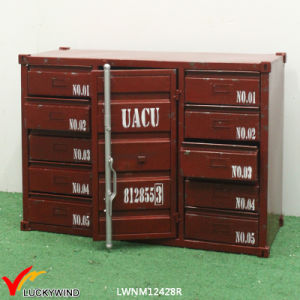 Vintage Industrial Handmade Metal Container Cabinet pictures & photos