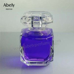 100ml Heart Shaped Glass Perfume Bottle for Woman pictures & photos