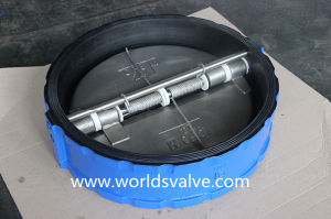 Rubber Lining Dual Plate Wafer Check Valve (H77X-10/16) pictures & photos