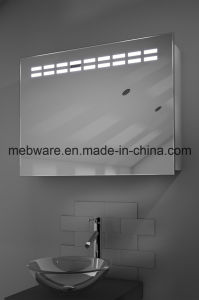 Aluminum Sliding Mirror Door Bathroom Cabinet pictures & photos
