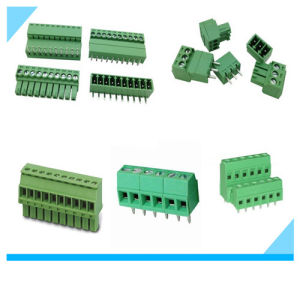 5.08mm Pitch PCB Mount Green Screw Terminal Block Pluggable pictures & photos