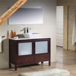 Free Standing Glass Door Bathroom Vanity pictures & photos