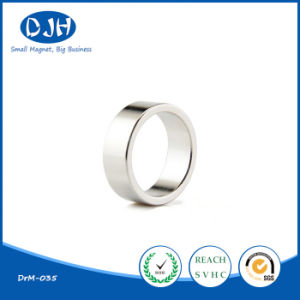 Wholesale Small Size Permanent Magnetic Material Sintered Ring Magnet pictures & photos