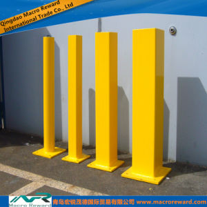 ASTM Stainless Steel Safety Yellow Bollard pictures & photos