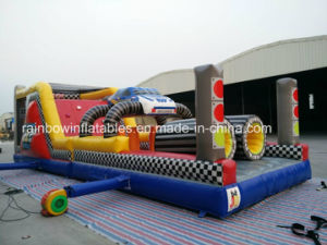 Commercial Inflatable Race Car Obstacle Course for Sale pictures & photos