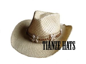 Paper Raffia Cowboy Straw Hat pictures & photos