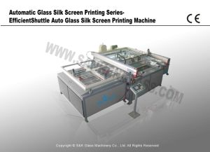 Automatic Glass Printing -Shuttle Auto Glass Silk Screen Printing Machine pictures & photos
