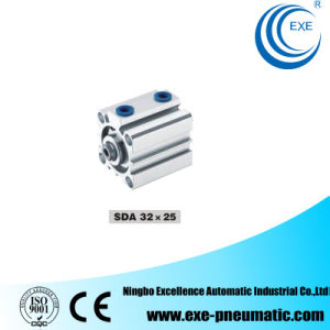 Sda Series Thin Type (compact) Pneumatic Cylinder Sda32*25 pictures & photos
