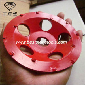 PCD-15 PCD Tool PCD Cup Wheel for Grinding Epoxy pictures & photos