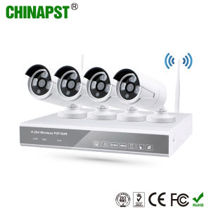HD Night Vision 4CH IP Wireless WiFi Cameras NVR Kit (PST-WIPK04AL) pictures & photos