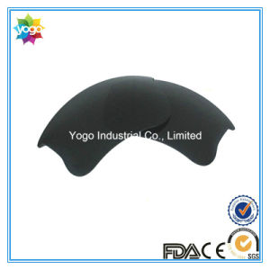 Replacement Lens for Flak Jacket Xlj Black Color