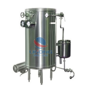 Stainless Steel Tubular Uht Sterilizer with Pump pictures & photos