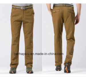 Gentle Mens Jeep Cotton Khaki Cotton Chinos pictures & photos