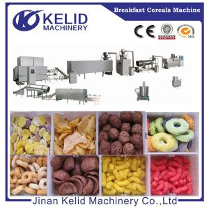 Popular Corn Puffed Snacks Extruder pictures & photos