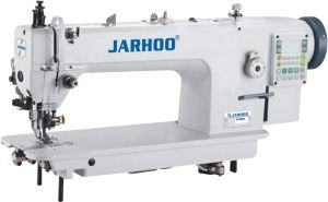 Jarhoo-0352D Computer Double Synchnorous Integrated Big Hook Top and Bottom Feed Sewing Machine with Cutter