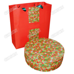 Handmade Round Paper Packing Box/ Gift Box pictures & photos