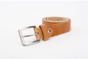 New Quality Genuine Cow Full Grain Leather Belts Mens Jeans Tan Belt
