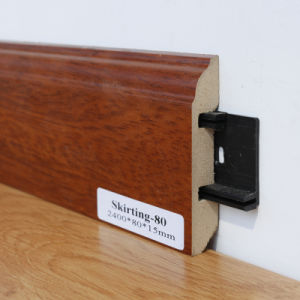 Laminate Flooring HDF or MDF Skirting Board Accessory