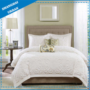 Medallion with Tufted Embroidery Cotton Duvet Cover pictures & photos
