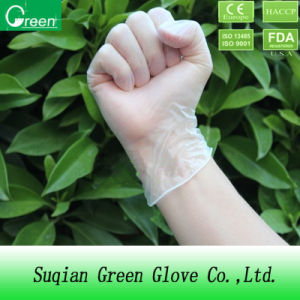 Medical Product Disposable Hospital Hand Vinyl Gloves pictures & photos
