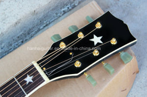 Hanhai Music / Black 43′′ Acoustic Guitar pictures & photos