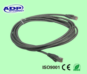Ce Certificated High Quality 26AWG Best Price UTP Cat5e Patch Cord Cable pictures & photos