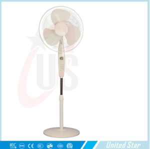 16′′ Plastic Electric Round Base Cooling Stand Fan pictures & photos