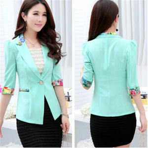 2015 New Style Spring Fashion Colorful Women Suits (50090) pictures & photos