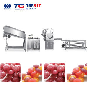 Gd150/300/450 Full Automatic Hard Candy Boiled Candy Making Line for Sale pictures & photos