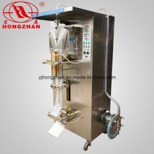 Automatic Small Bag Packing Machine with 100ml 200ml 300ml Filling pictures & photos