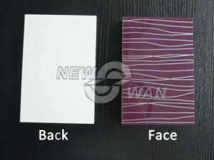 Acrylic Laminated MDF Board / UV Laminated MDF Board pictures & photos