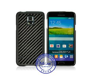 High Quality Carbon Fiber PC Cover for Samsung Galaxy S5 pictures & photos