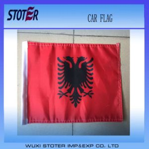 110g Knitted Polyester Promotional Window Car Flag