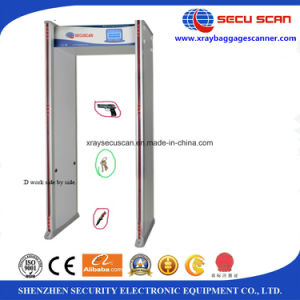 33 multi zones walk through gate to detect weapons in factory, electronic parts pictures & photos