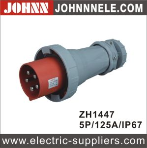 3p 16A IP44 Plug for Industrial with Ce Certification pictures & photos